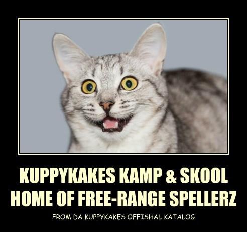 KUPPYKAKES KAMP & SKOOL HOME OF FREE-RANGE SPELLERZ
