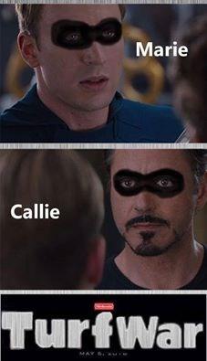 marvel,The Avengers,splatoon,callie,iron man,captain america,civil war,marie