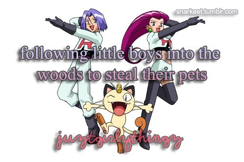 Nothing Weird About That At All, Team Rocket