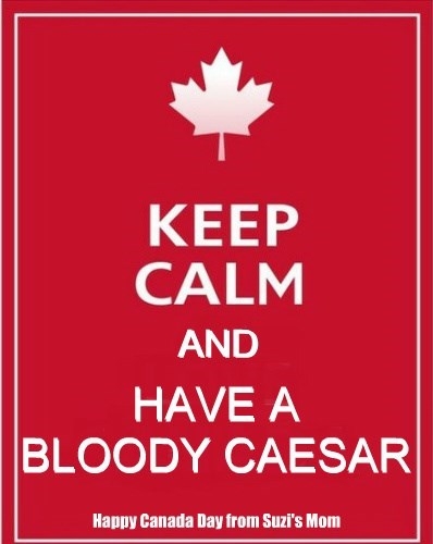 keep calm and have a bloody caesar
