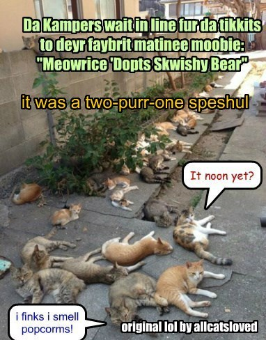 it was a two-purr-one speshul