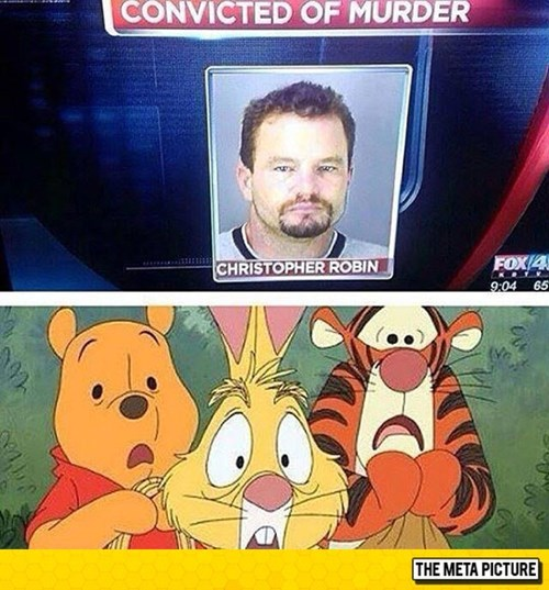 Christopher robin convicted of murder