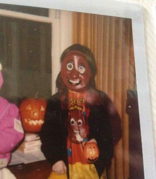reeses peanut butter cup costume fail
