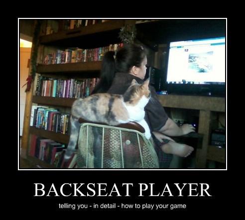 BACKSEAT PLAYER