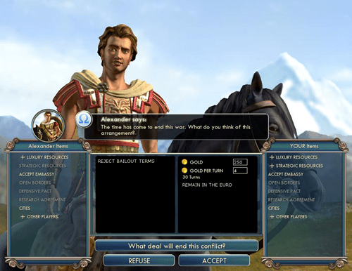 Civ V is More Topical Than You Thought