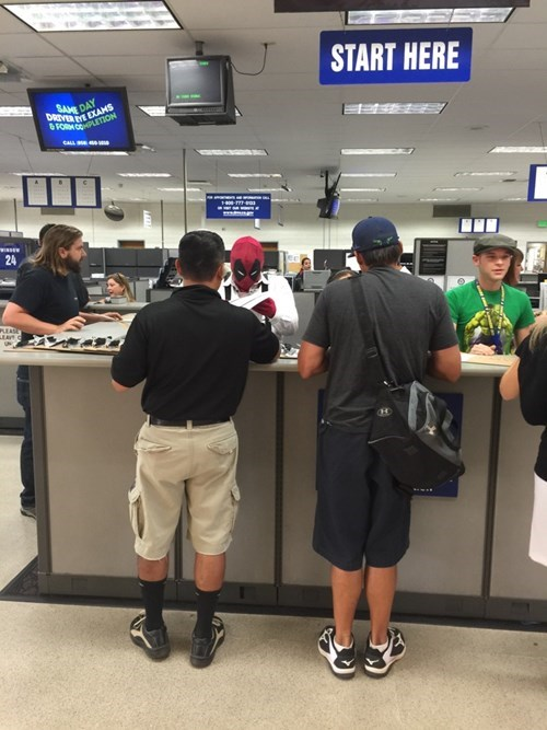 The DMV in San Diego is Getting Into the Comic-Con Spirit