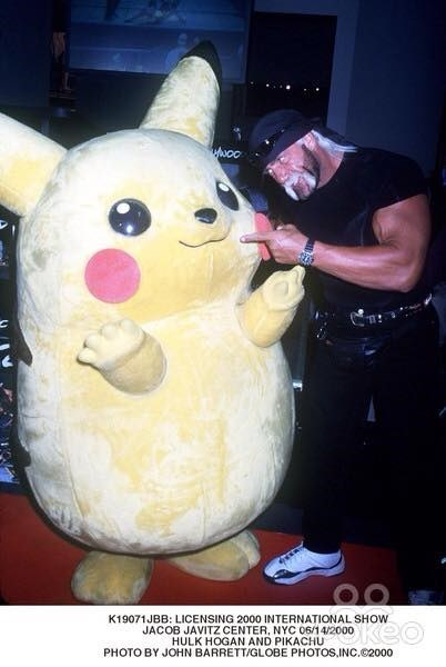 Hulk Hogan,pikachu