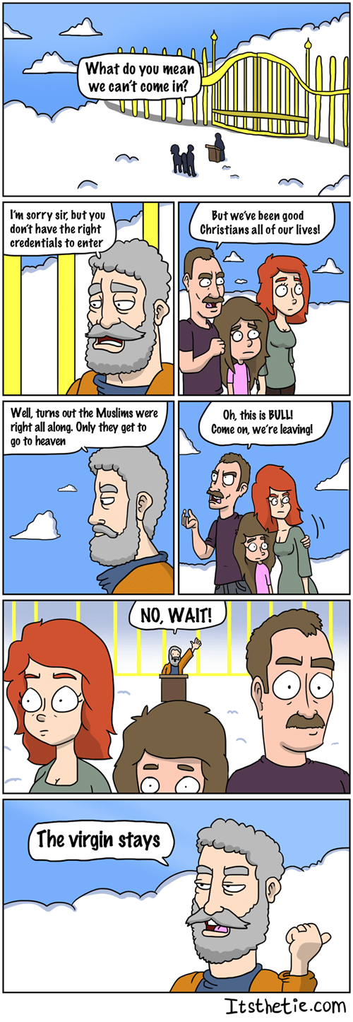 The Truth Behind Heaven
