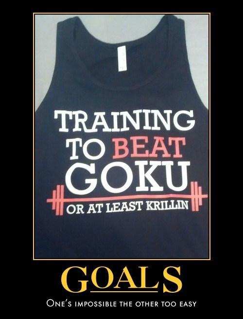 anime memes training beat goku krillin