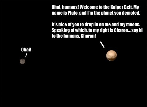 After a 9-year journey, the New Horizons probe has finally arrived at Pluto and will be at its closest distance on July 14, 2015.