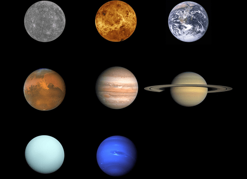 Now That We Have a High-Res Picture of Pluto, Here's an Updated Shot of All the Planets in Our Solar System