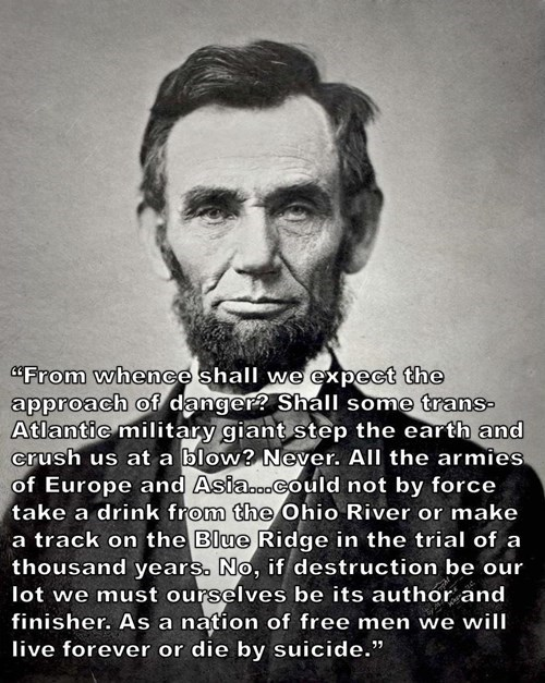 This Abraham Lincoln Quote is Eerily Accurate Today