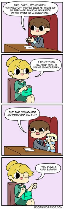 Insurance Companies in a Nutshell