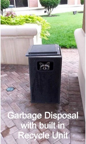 Garbage Disposal  with built in  Recycle Unit