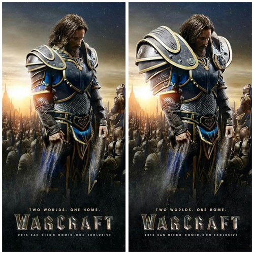 The Warcraft Movie Poster Needed Some Fixing