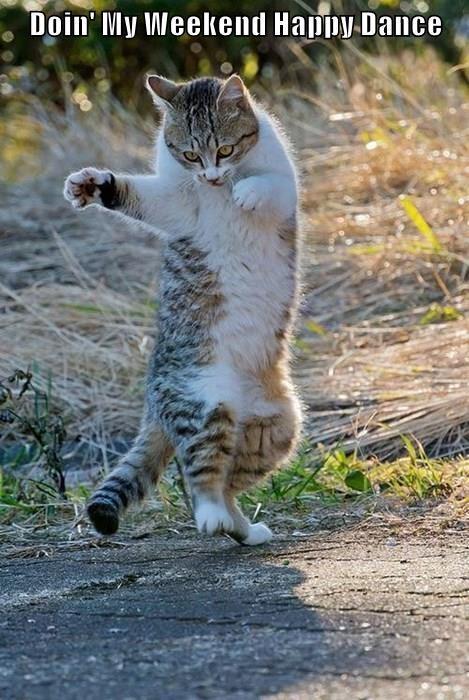 Doin' My Weekend Happy Dance