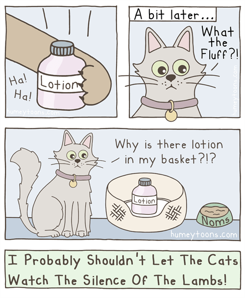 hoses,lotion,web comics