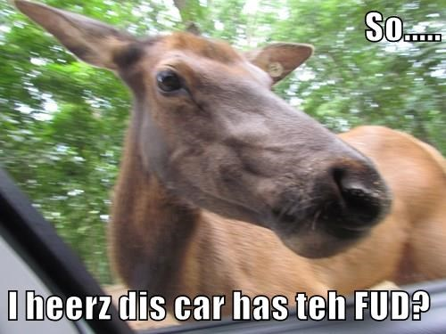 So.....  I heerz dis car has teh FUD?