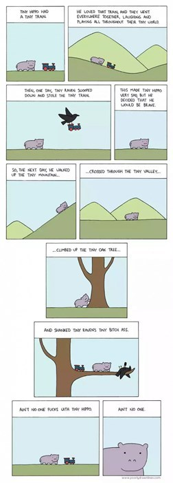 funny-web-comics-this-is-what-happens-if-you-saw-tiny-hippo