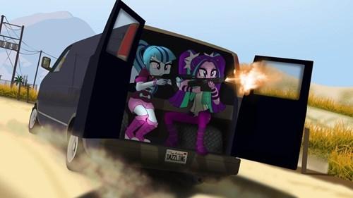 Dazzlings Theft Auto
