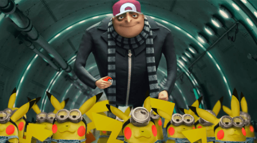 pokemon memes despicable me pikachu
