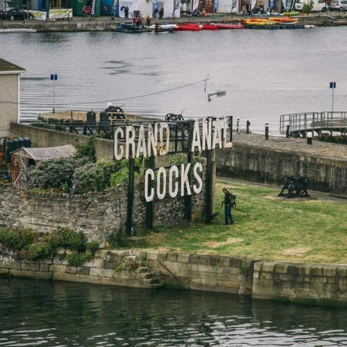 "Someone Changed the ""Grand Canal Docks"" Sign in Dublin to This"
