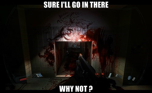 Horror Game Logic