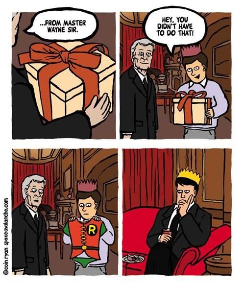If You Got It, Flaunt It, Robin