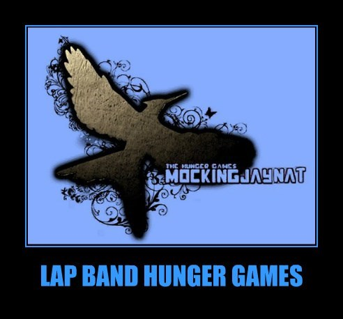 LAP BAND HUNGER GAMES