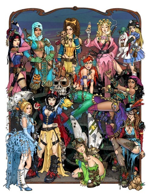 Post-Apocalyptic Princesses