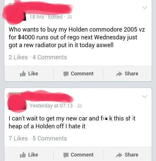 FAIL,car,facepalm,selling