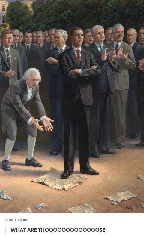 """Mr. President, I Got One Question for Ya..."""