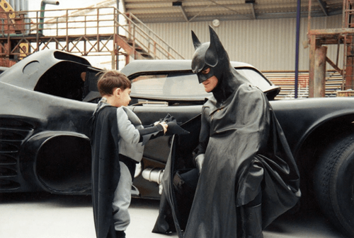 Sad of the Day: Baltimore's Batman, Who Dressed Up and Visited Children's Hospital