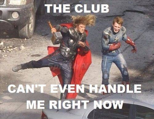 They Only Dance At The hottest Asgardian Spots