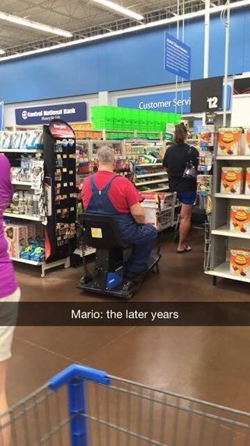 Mario Gone 'Murica