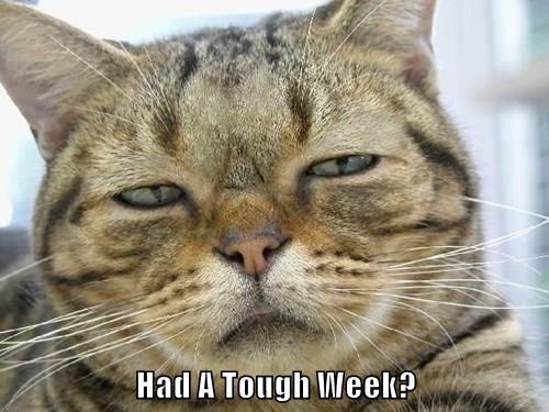 Had A Tough Week?