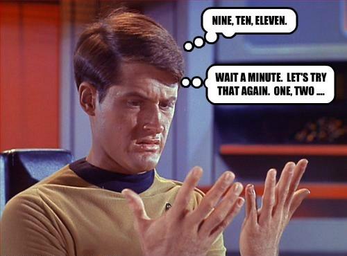 NINE, TEN, ELEVEN.