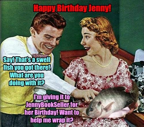 Hope This Birthday Wish Isn't Too Fishy!