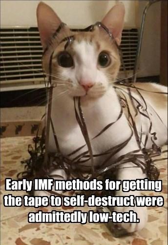 cat,caption,destruct,tape,mission impossible