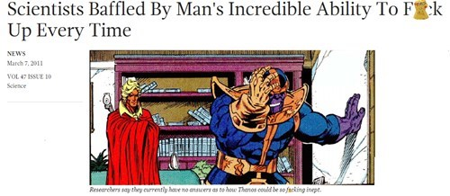 Why Is He Handing Everyone Infinity Stones?