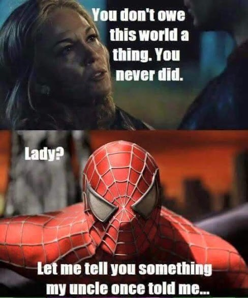 With Great Power Comes Great... Apathy