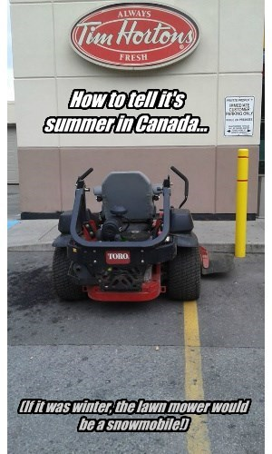 Summer in Canada
