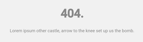 YouTube Gaming's 404 Page