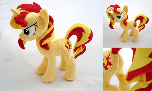 Sunset Shimmer Plushie Needs Cuddles