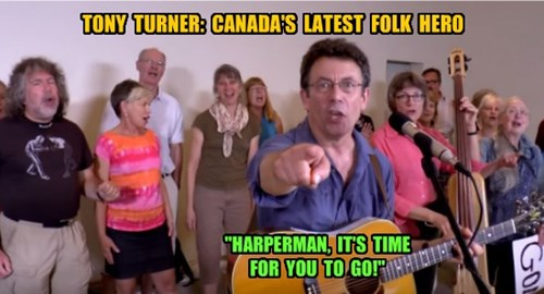 "TONY TURNER: ""HARPERMAN, IT'S TIME FOR YOU TO GO!"""