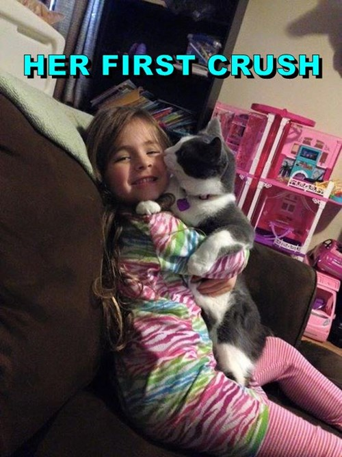 HER FIRST CRUSH