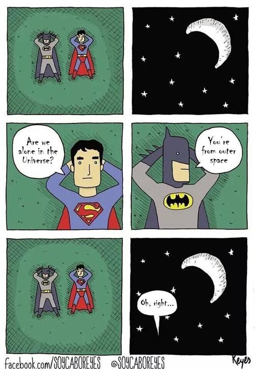 Clark's a Little Forgetful