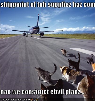 shippmint of teh suppliez haz com  nao we construct ebvil planz...