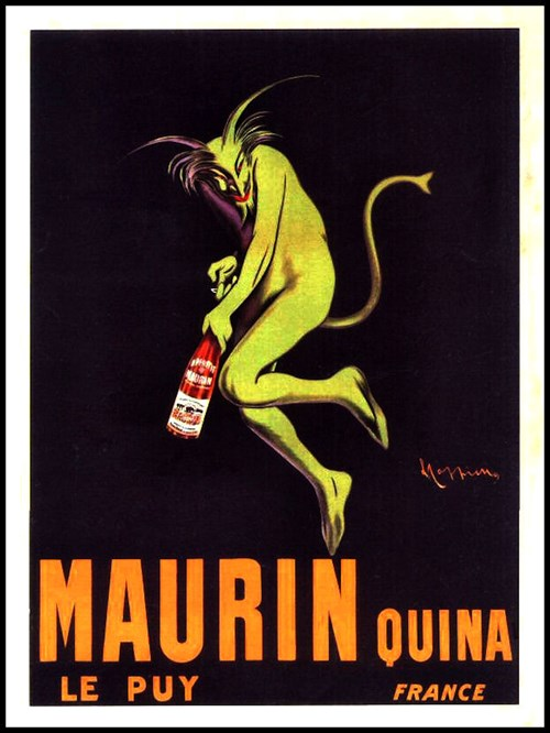 Old Absinthe Ads Are Creepy