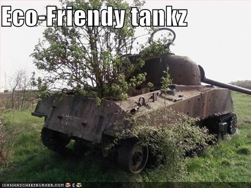 Eco-Friendy tankz